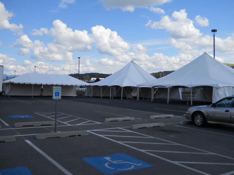 40x40 Circus tents and 20x40 tent & A To Z Party Rentals Spokane