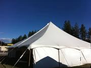 40x40 Circus Tent with side walls