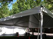40'X40' FRAME TENT - UNDERSIDE PICTURE