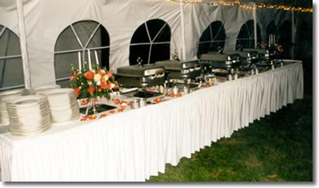 Buffet Tables 8